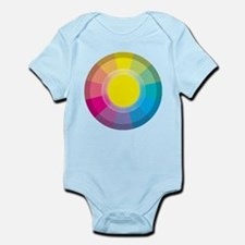 Colour Wheel yellow Body Suit