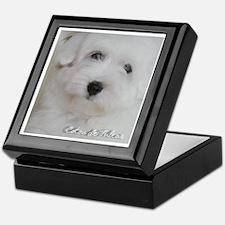 Coton De Tulear Pup Keepsake Box