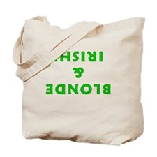 Blonde & Irish! Tote Bag