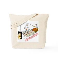Sled Dog Motivation Tote Bag