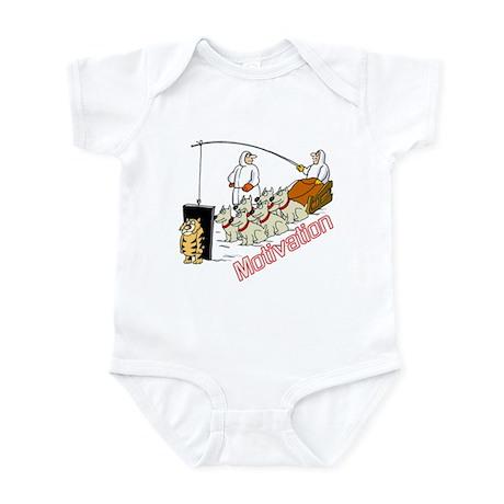 Sled Dog Motivation Infant Bodysuit