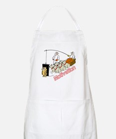 Sled Dog Motivation BBQ Apron