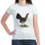 Brassy Back Hen Jr. Ringer T-Shirt