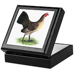 Brassy Back Hen Keepsake Box