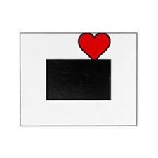 Heart Water Boarding White Picture Frame