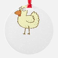 Not Ingredient Chicken White Ornament