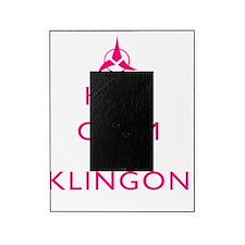 Keep-Calm-Klingon-PINK Picture Frame