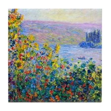 iPad Monet FloBeds Tile Coaster