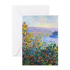 iPad Monet FloBeds Greeting Card