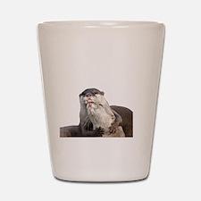 Significant Otter White Shot Glass