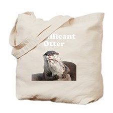 Significant Otter White Tote Bag