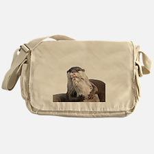 Significant Otter White Messenger Bag