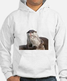 Significant Otter White Hoodie