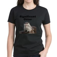 Significant Otter Black Tee