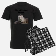 Significant Otter Black Pajamas