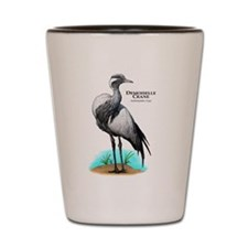 Demoiselle Crane Shot Glass