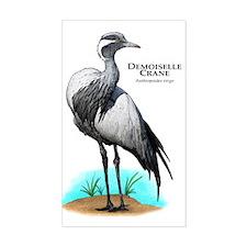 Demoiselle Crane Decal