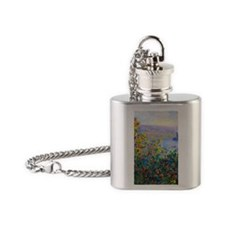443 Monet FloBeds Flask Necklace