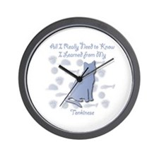 Learned Tonkinese Wall Clock