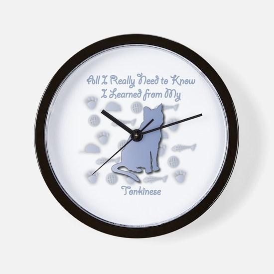Learned Tonkinese Wall Clock