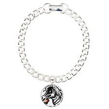 Fight like a zebra WHITE Bracelet