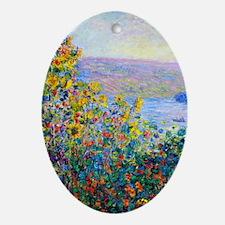 K/N Monet FloBeds Oval Ornament