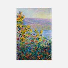K/N Monet FloBeds Rectangle Magnet