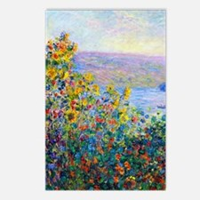 K/N Monet FloBeds Postcards (Package of 8)