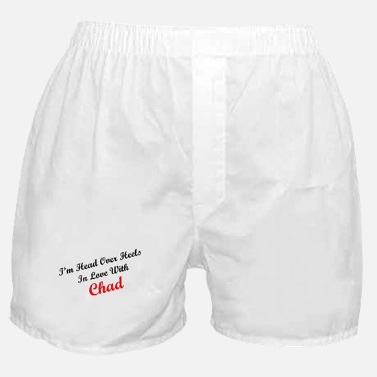 In Love with Chad Boxer Shorts
