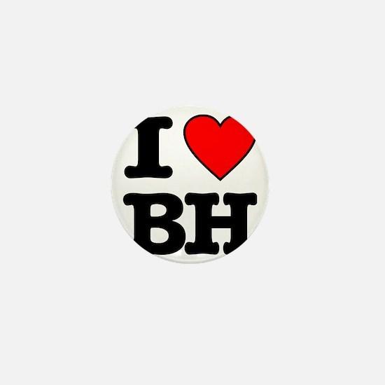 I LOVE BH copy Mini Button
