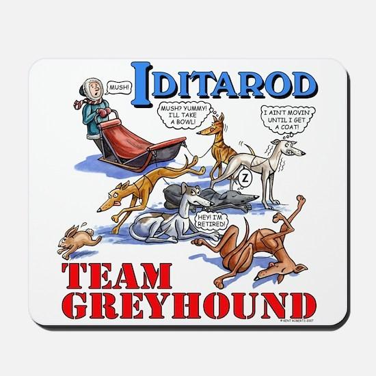 Team Greyhound Mousepad