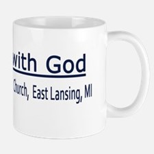 I roll wiwth God Bumper Sticker 90_H_F Mug