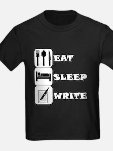 Eat Sleep Write T-Shirt