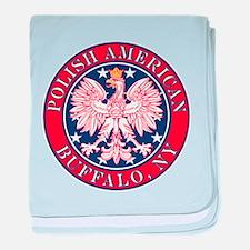 Buffalo New York Polish baby blanket
