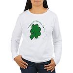 Shamrock and Confetti Women's Long Sleeve T-Shirt