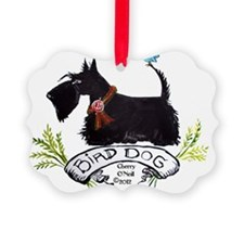 Scottie Bird Dog Ornament