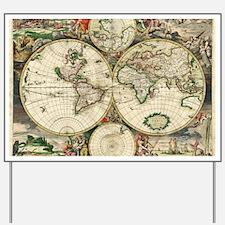 World_Map_1689 Yard Sign