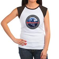 USS CHICAGO Women's Cap Sleeve T-Shirt