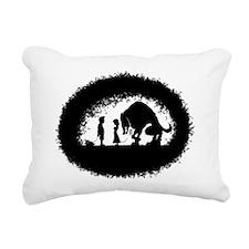 mydogsbigger Rectangular Canvas Pillow