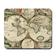 World_Map_1689SCV2 Mousepad