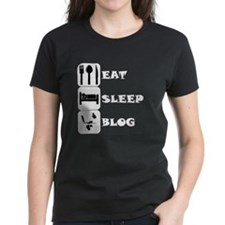 Eat Sleep Blog T-Shirt