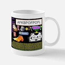 PeepsColourMrHasAClue Mug