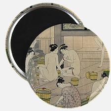 Kiyonaga bathhouse women SC Magnet
