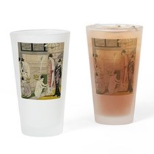 Kiyonaga bathhouse women SC2 Drinking Glass