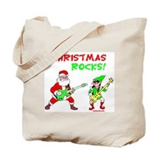 Christmas Rocks Tote Bag