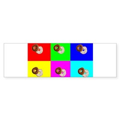 Andy Warhola Bagels Sticker (Bumper)