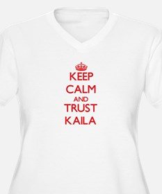 Keep Calm and TRUST Kaila Plus Size T-Shirt