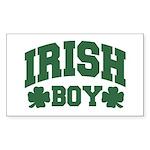 Irish Boy Rectangle Sticker