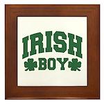Irish Boy Framed Tile