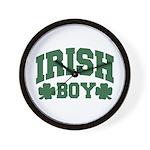 Irish Boy Wall Clock
